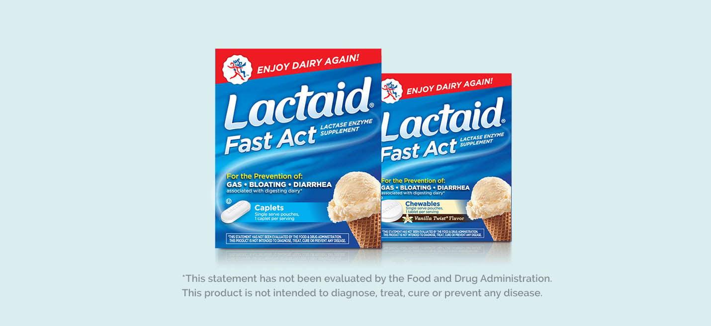 Suplementos LACTAID®
