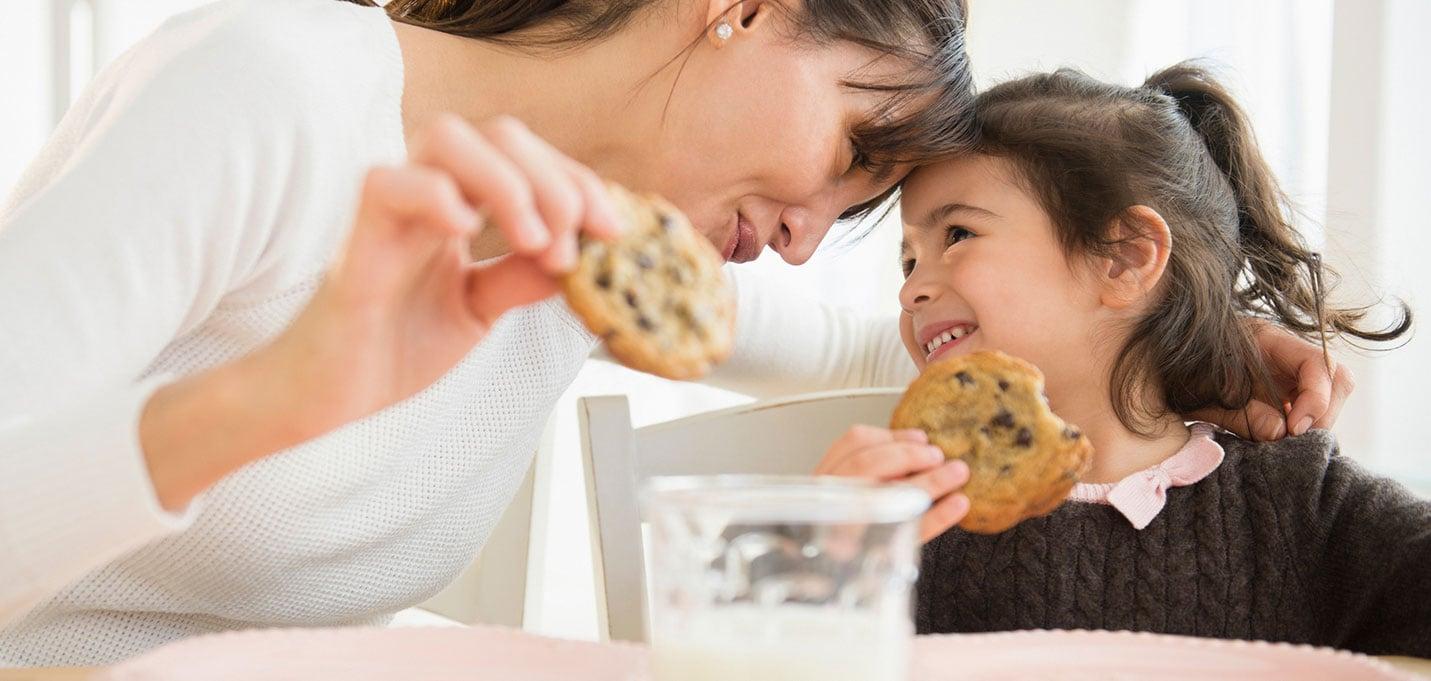 Reacción de los niños a los lácteos