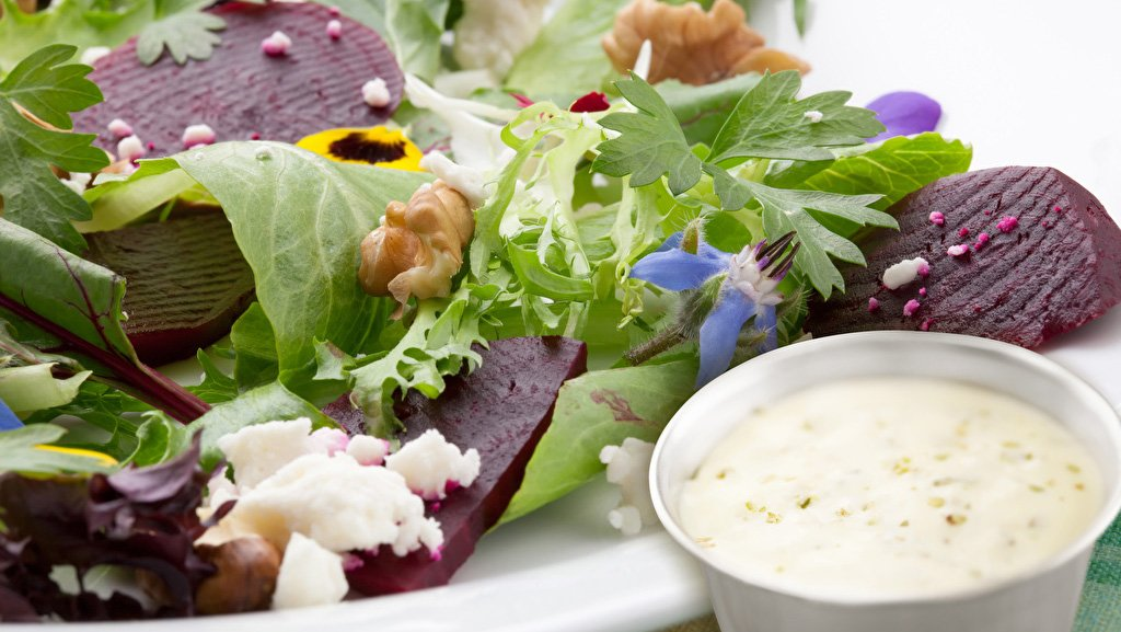 Bibb Salad with 'Buttermilk' Dressing   LACTAID®