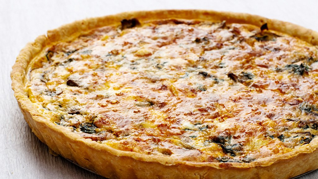 Lactose Free Caramelized Onion Quiche Recipe Made with LACTAID® Milk