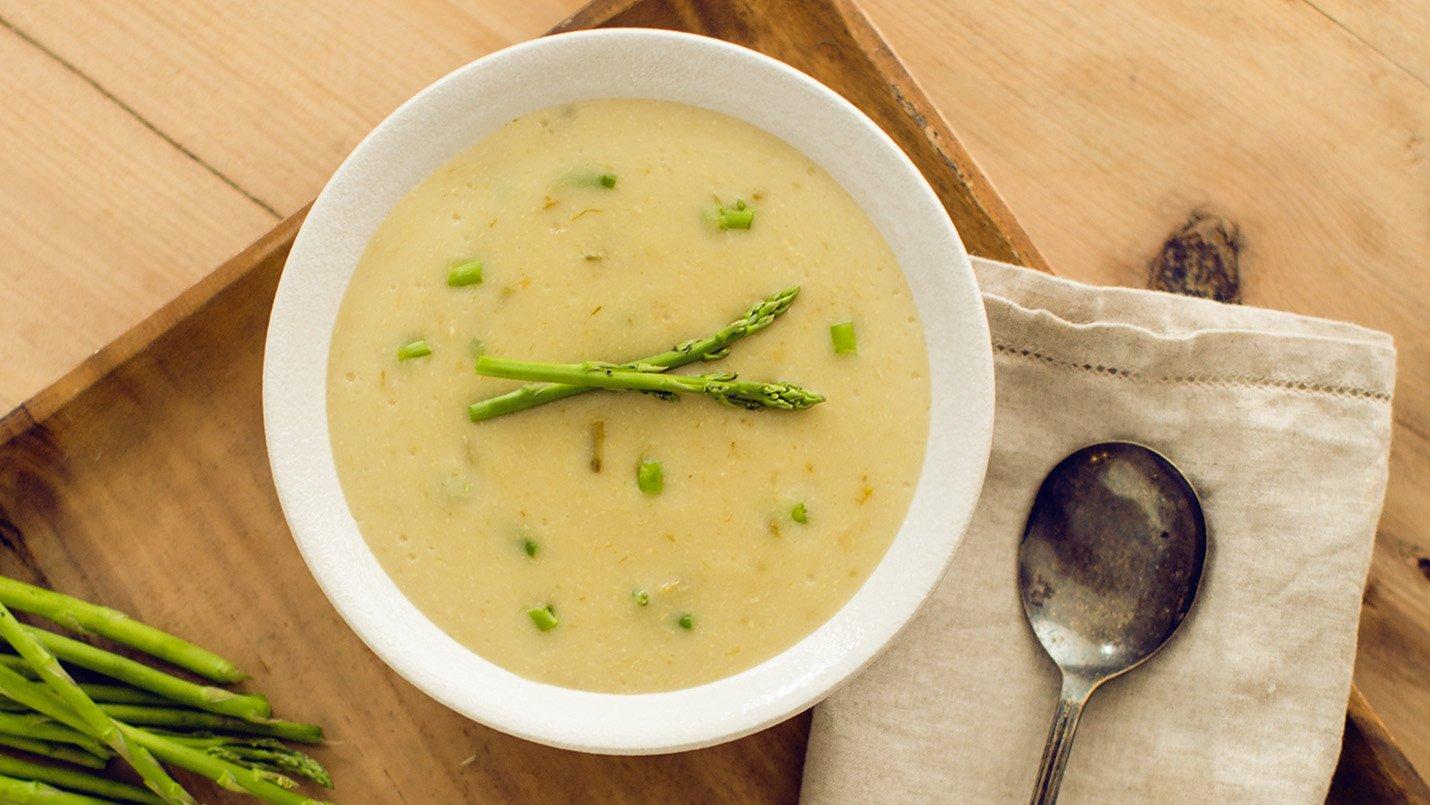 Fresh Asparagus Soup | LACTAID®