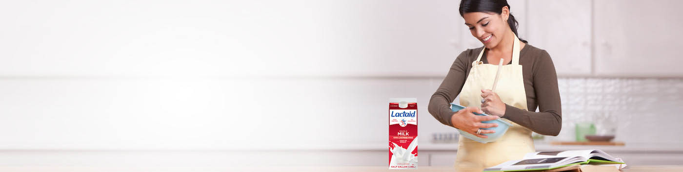 Cooking with LACTAID® Products