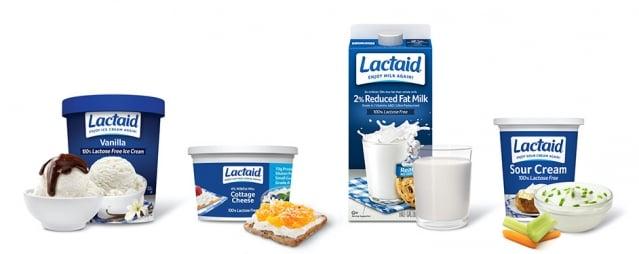 Lactaid product suite