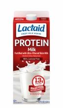 Leche LACTAID® entera con alto contenido de proteínas