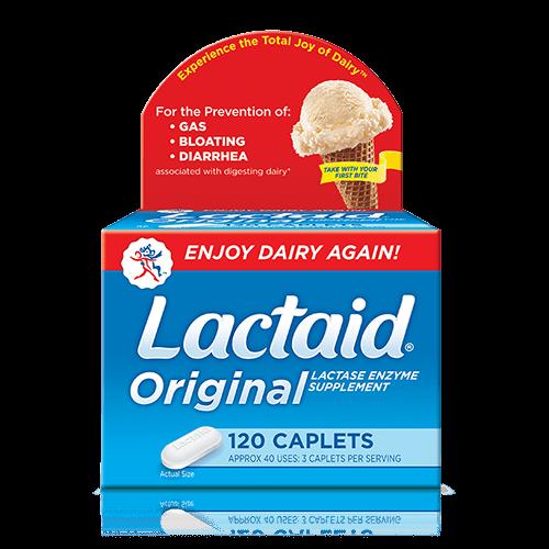 LACTAID® Original Strength Caplets