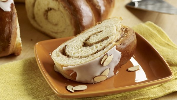 Almond Twirl Bread