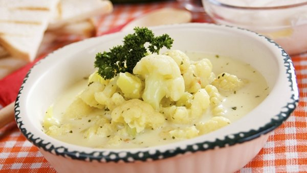 Cauliflower in Creamy Garlic Sauce Recipe Made with LACTAID® Milk