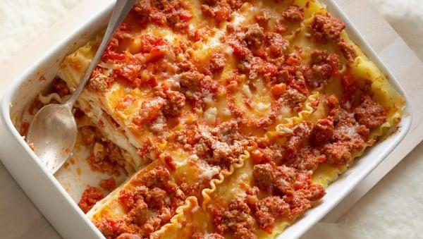 Italian Sausage Lasagna Made with Lactaid®